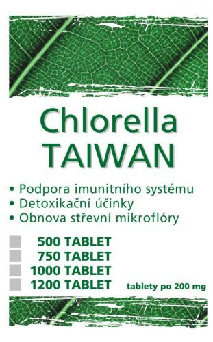 CHLORELLA TAIWAN 1200 tablet