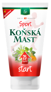 KOŇSKÁ MAST SPORT START gel